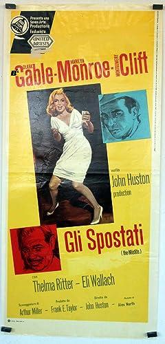 GLI SPOSTATI - 1961Dir JOHN HUSTONCast: CLARK