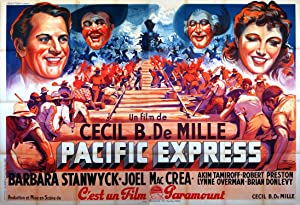 UNION PACIFIC MOVIE POSTER/PACIFIC EXPRESS/POSTER