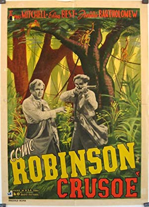 SWISS FAMILY ROBINSON MOVIE POSTER/COME ROBINSON CRUSOE/POSTER