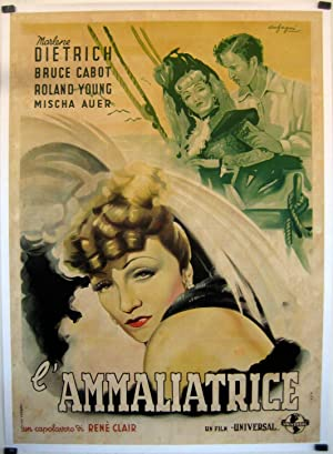 THE FLAME OF NEW ORLEANS MOVIE POSTER/AMMALIATRICE,