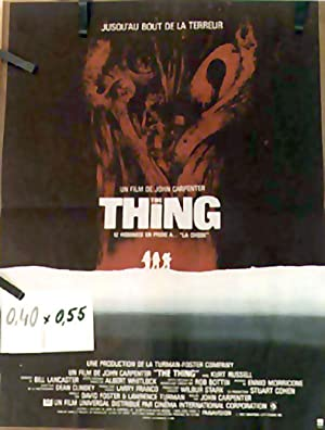 THE THING MOVIE POSTER/THING, THE/POSTER