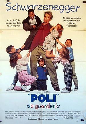 MOVIE POSTER/ KINDERGARTEN COP/ ARNOLD SCHWARZENEGGER/ 1990/