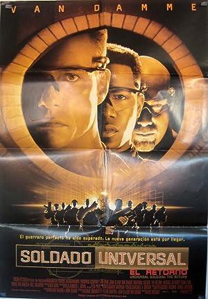 Universal Soldier MOVIE POSTER/- 1992, Dir: Roland