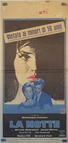 LA NOTTE - 1961Dir MICHELANGELO ANTONIONICast: JEANNE