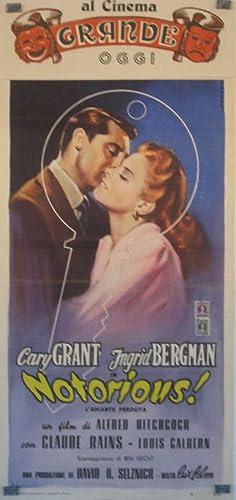 NOTORIUS - 1946Dir ALFRED HITCHCOCKCast: CARY GRANTMORONI