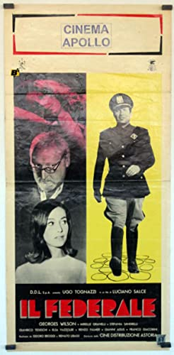 MOVIE POSTER/ IL FEDERALE/ GEORGES WILSON/ 1961/