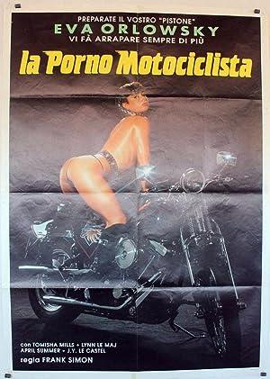 Harley Davidson Girl MOVIE POSTER/LA PORNO MOTOCICLISTA/POSTER