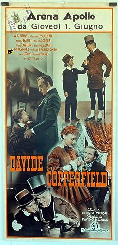 DAVIDE COPPERFIELD - 1935Dir GEORGE CUKORCast: LIONEL