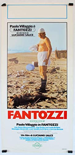 MOVIE POSTER/ FANTOZZI/ PAOLO VILLAGGIO/ 1975/ LUCIANO