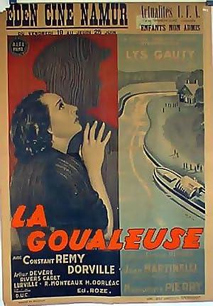 LA GOUALEUSE MOVIE POSTER/GOUALEUSE, LA/POSTER