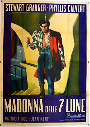 MOVIE POSTER/ MADONNA OF THE SEVEN MOONS/