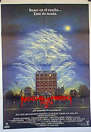MOVIE POSTER/ FRIGHT NIGHT/ WILLIAM RAGSDALE/ 1985/
