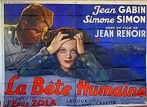 LA BETE HUMAINE MOVIE POSTER/BETE HUMAINE, LA/POSTER