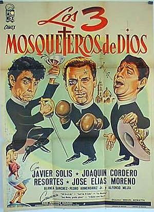 MOVIE POSTER/ LOS 3 MOSQUETEROS DE DIOS/