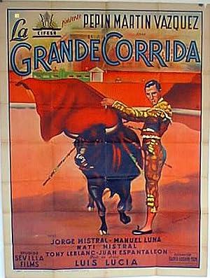 CURRITO DE LA CRUZ MOVIE POSTER/GRANDE CORRIDA,