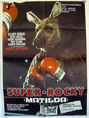 MOVIE POSTER/ MATILDA/ ELLIOT GOULD/ 1978/ DANIEL