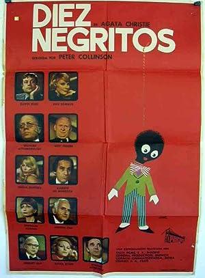 DIEZ NEGRITOS - 1966Dir GEORGE POLLOCKCast: WILFRID