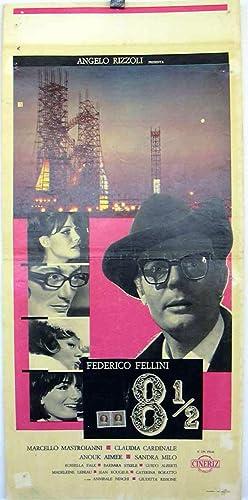 8 1/2 FELLINI - 1963Dir FEDERICO FELLINICast: