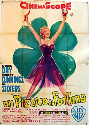 LUCKY ME MOVIE POSTER/PIZZICO DI FORTUNA, UN/POSTER