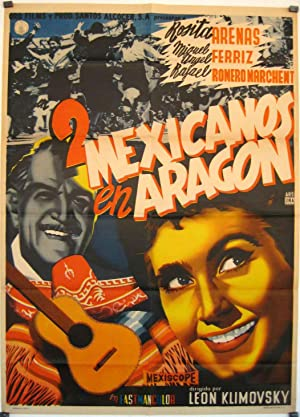 UN INDIANO EN MORATILLA MOVIE POSTER/2 MEXICANOS EN ARAGON/POSTER