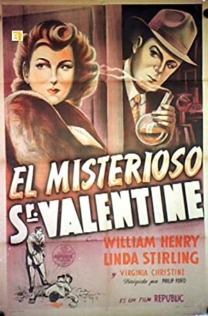 THE MYSTERIOUS MR. VALENTINE MOVIE POSTER/MISTERIOSO SR. VALENTINE, EL/POSTER