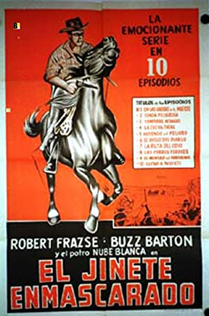 ROYAL MOUNTED MOVIE POSTER/JINETE ENMASCARADO, EL/POSTER
