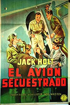 THE GREAT PLANE ROBBERY MOVIE POSTER/AVION SECUESTRADO, EL/POSTER
