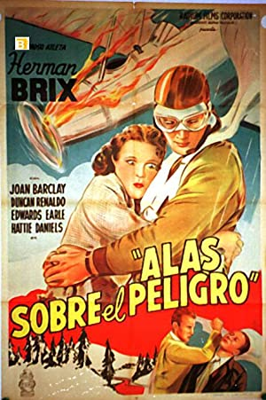 SKY RACKET MOVIE POSTER/ALAS SOBRE EL PELIGRO/POSTER