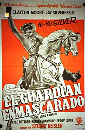 THE LONE RANGER MOVIE POSTER/GUARDIAN ENMASCARADO, EL/POSTER