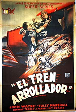 HURRICANE EXPRESS MOVIE POSTER/TREN ARROLLADOR, EL/POSTER