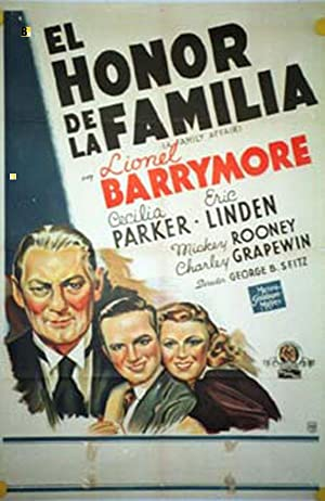 A FAMILY AFFAIR MOVIE POSTER/HONOR DE LA FAMILIA, EL/POSTER