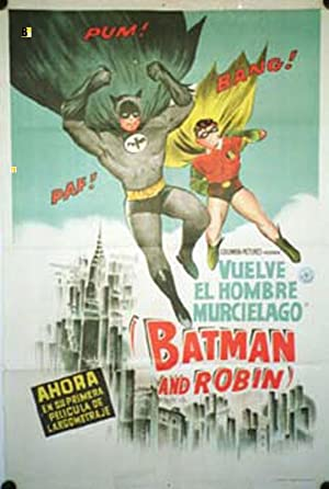 BATMAN AND ROBIN MOVIE POSTER/BATMAN AND ROBIN/POSTER
