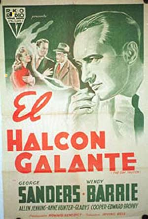 THE GAY FALCON MOVIE POSTER/HALCON GALANTE, EL/POSTER