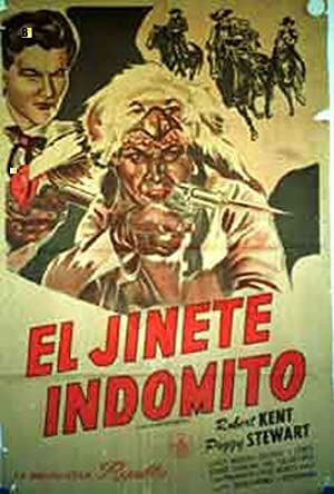 THE PHANTOM RIDER MOVIE POSTER/JINETE INDOMITO, EL/POSTER
