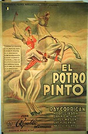 THE PAINTED STALLION MOVIE POSTER/POTRO PINTO, EL/POSTER