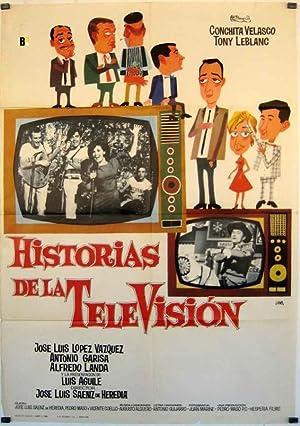 MOVIE POSTER/ HISTORIAS DE LA TELEVISION/ LOPEZ