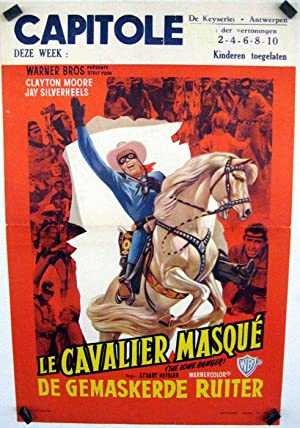 THE LONE RANGER MOVIE POSTER/CAVALIER MASQUE, LE/POSTER