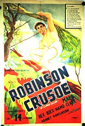 ROBINSON CRUSOE OF CLIPPER ISLAND MOVIE POSTER/ROBINSON CRUSOE/POSTER