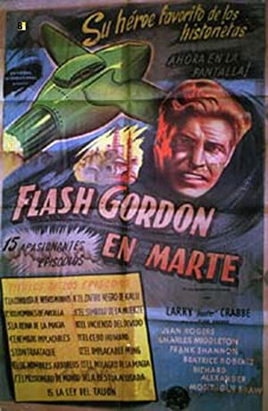 FLASH GORDON S TRIP TO MARS MOVIE POSTER/FLASH GORDONA LA PLANETE MARS,/POSTER
