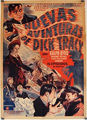 DICK TRACY G-MEN MOVIE POSTER/NUEVAS AVENTURAS DE DICK TRACY/POSTER
