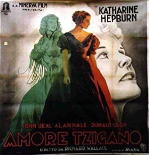 LITTLE MINISTER MOVIE POSTER/AMORE TZIGANO/POSTER