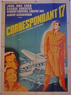FOREIGN CORRESPONDANT MOVIE POSTER/CORRESPONDANT 17/POSTER