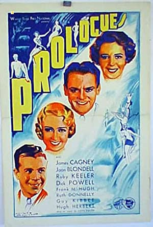 FOOTLIGHT PARADE MOVIE POSTER/PROLOGUES/POSTER