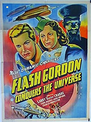 FLASH GORDON CONQUERS THE UNIVERSE MOVIE POSTER/FLASH GORDON CONQUERS THE UNIVERSE/POSTER