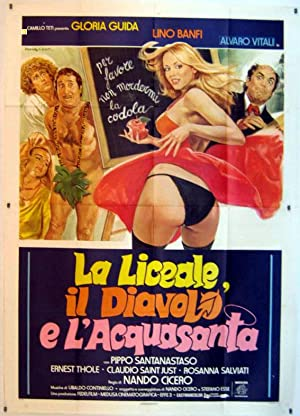 MOVIE POSTER/ LA LICEALE, IL DIAVOLO E