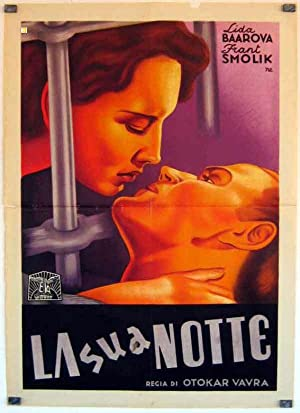 MOVIE POSTER/ TURBÍNA/ LÍDA BAAROVÁ/ 1939/ OTAKAR