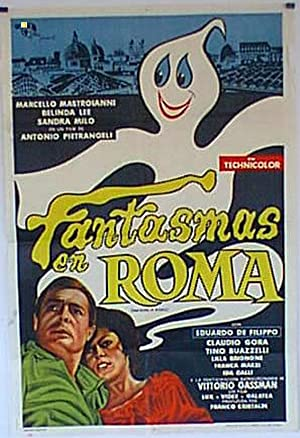 FANTASMI A ROMA MOVIE POSTER/FANTASMAS EN ROMA/POSTER