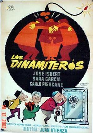 MOVIE POSTER/ LOS DINAMITEROS/ JOSE ISBERT/ 1964/