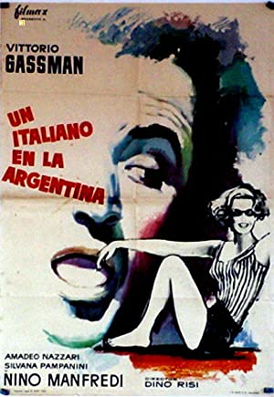 MOVIE POSTER/ IL GAUCHO/ SILVANA PAMPANINI/ 1964/