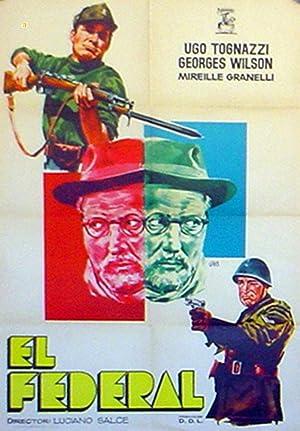MOVIE POSTER/ IL FEDERALE/ UGO TOGNAZZI/ 1961/